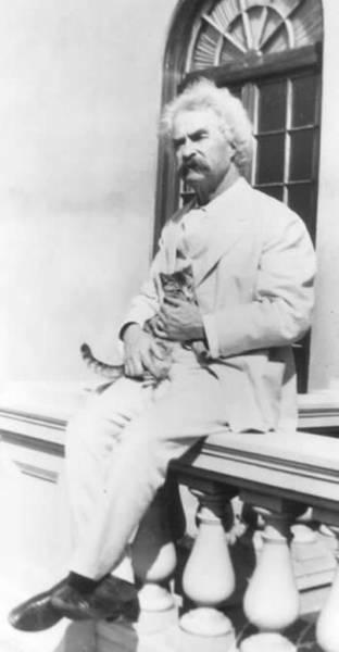 Mark Twain with