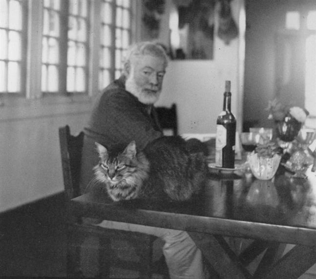 Ernest Hemingway with