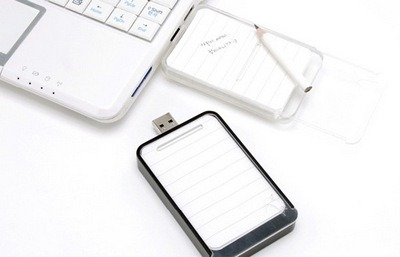 Notepapers USB flash drive