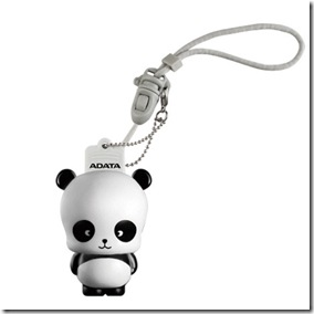 Panda Mascot  USB flash drive