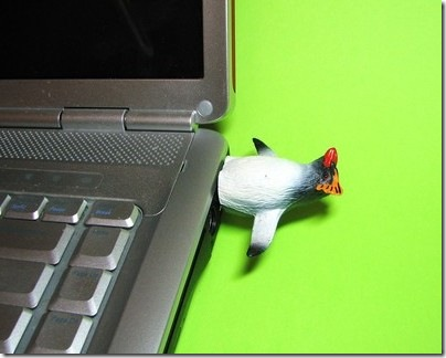 Hemingway funs Pinguin USB flash drive 1