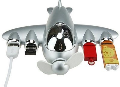 Airplane USB hub
