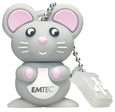 Mouse USB flash drive