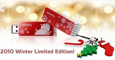 Winter USB flash drive