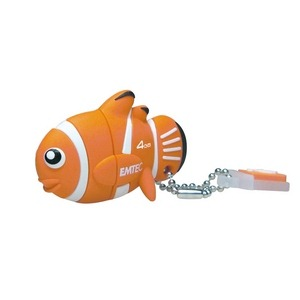 The Aquarium range Clown fish USB flash drive
