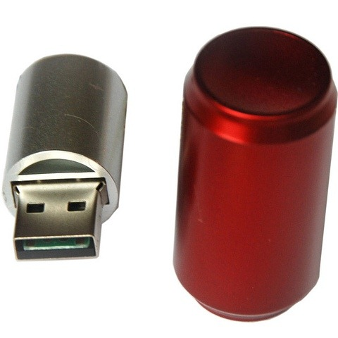 Cola can memory stick