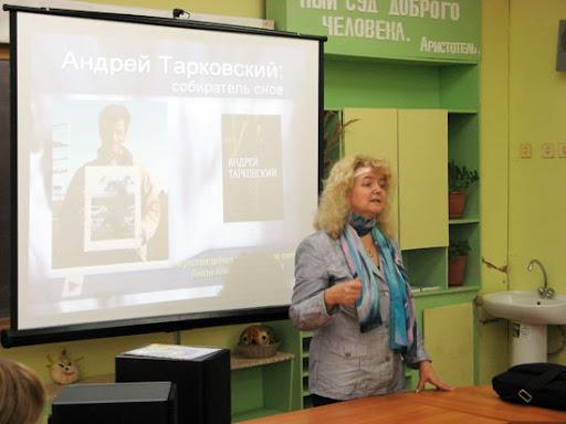 И.В. Сметанина рассказывает об ИГХТУ