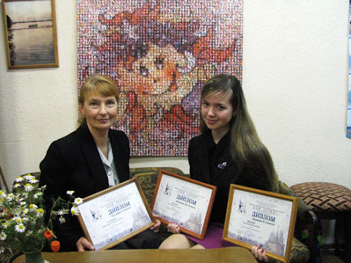Победители конкурса М.Н.Таланова и Т.Щапова