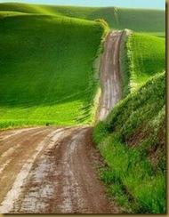 estrada de chao