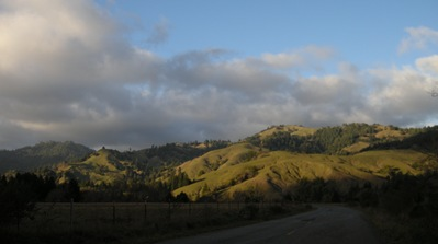 in the middle of nowhere, the gorgeous Mattole River Valley
