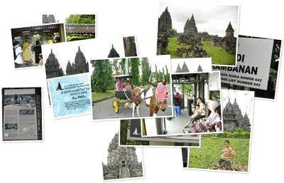 View Candi Prambanan