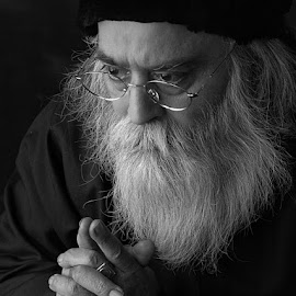 Prayers by Rakesh Syal - People Portraits of Men