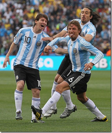 Argentina v Nigeria Group B 2010 FIFA World _8g4JjdVE7Wl