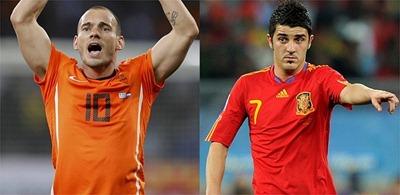 sneijder vs villa