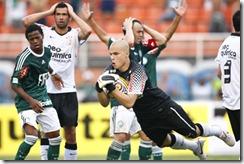 Sao Paulo/SP; Brasil; Estadio Pacaembu; 06/02/2011; Futebol; Campeonato Paulista, jogo Palmeiras x Corinthians; foto de Ari Ferreira/Lancepress; foto digital;