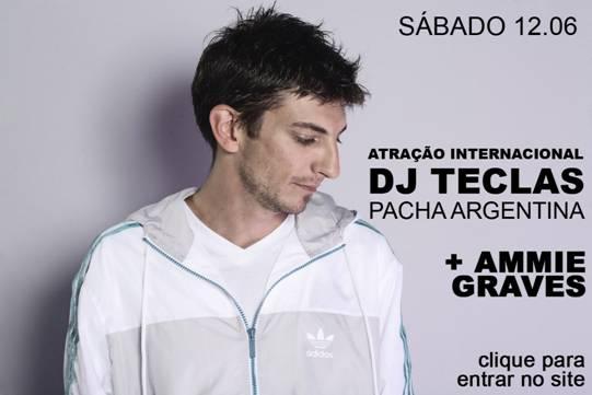 DJ Teclas na Loft Amparo