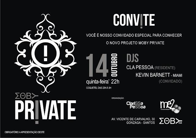 Convite Moby Private