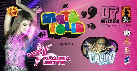 MetôFolia 2010 - Claudia Leitte e Cheiro de Amor