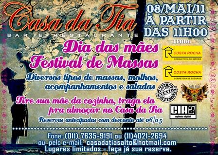 Casa da Tia - Festival de Massas