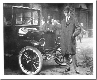 Henry Ford e o Ford preto