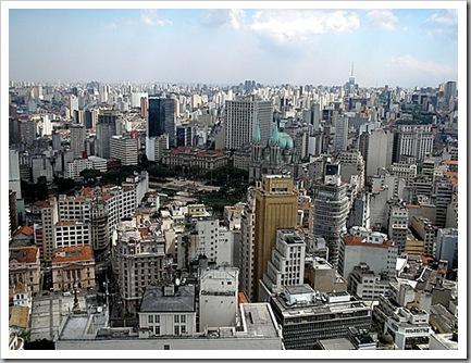 Praça da Sé e Centro Velho: vista panorâmica
