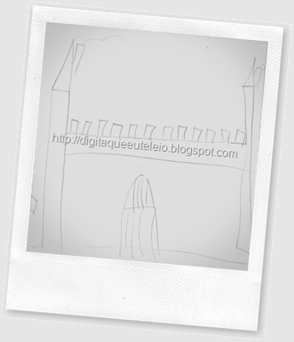 Desenho recebido de um aluno em Set/09