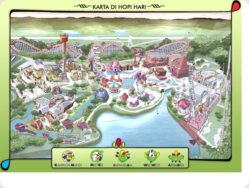Mapa do Hopi Hari