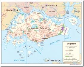 singpore map