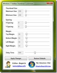 Windows 7: Customize Thumbnail previews in your taskbar