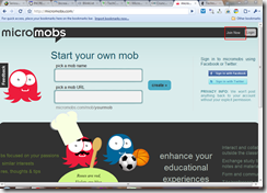 Micromobs: Group messaging application