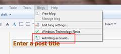 Windows Live Writer! Blogger