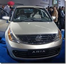 Launch of Tata Aria in India