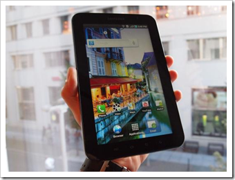 Samsung Galaxy Tab will be Launched in India