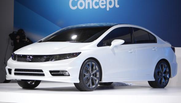 Foto Novo Honda Civic