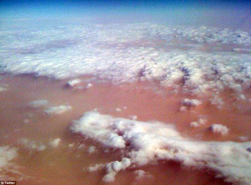 Australia enfrenta uma tempestade de areia