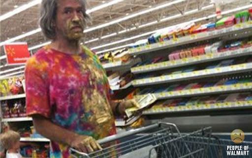 Coisas que você só vê no Wal-Mart