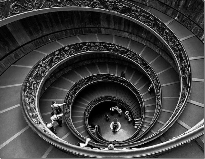 Spiral Staircase at the Vatican Museum by Gotinha