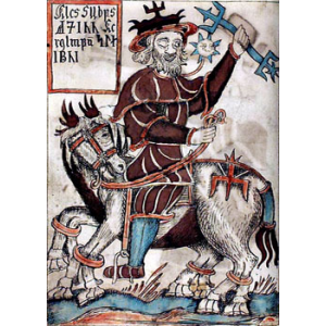 Shamanism And The Image Of The Teutonic Deity Odin Cover
