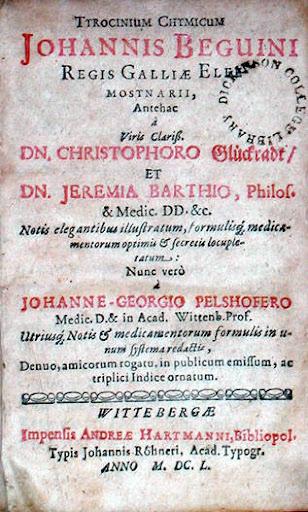 Tyrocinium Chymicum Cover