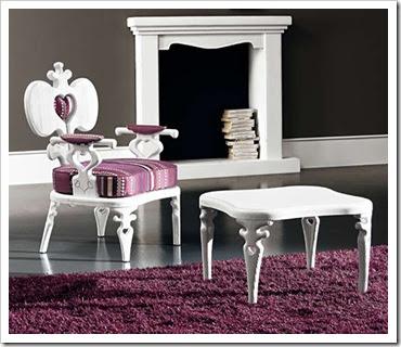 Romantic Mon Amour Seating