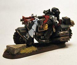 Ravenwing biker 1