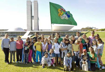 Photo-souvenir in Brasilia