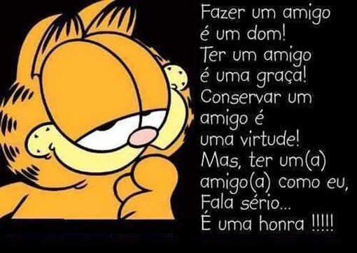 Garfield - amizade