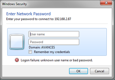 Enter Network Password