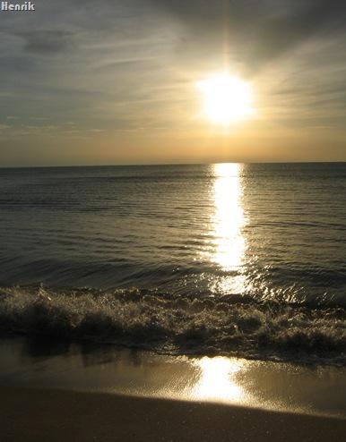 Praia Fonte da Telha_Por do sol