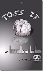 TOSS IT - 01