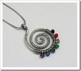 Chakra Pendant by Galadryl on Etsy