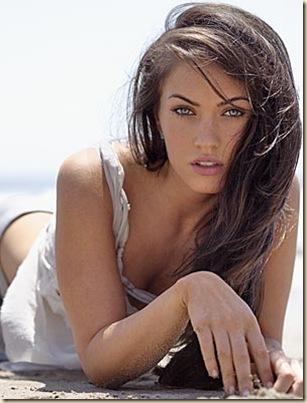 brunette meganfox