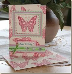 Schmetterling-fertig