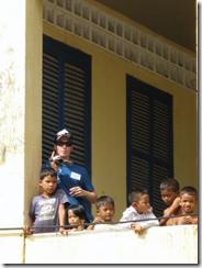 Aaron Mondok in Cambodia